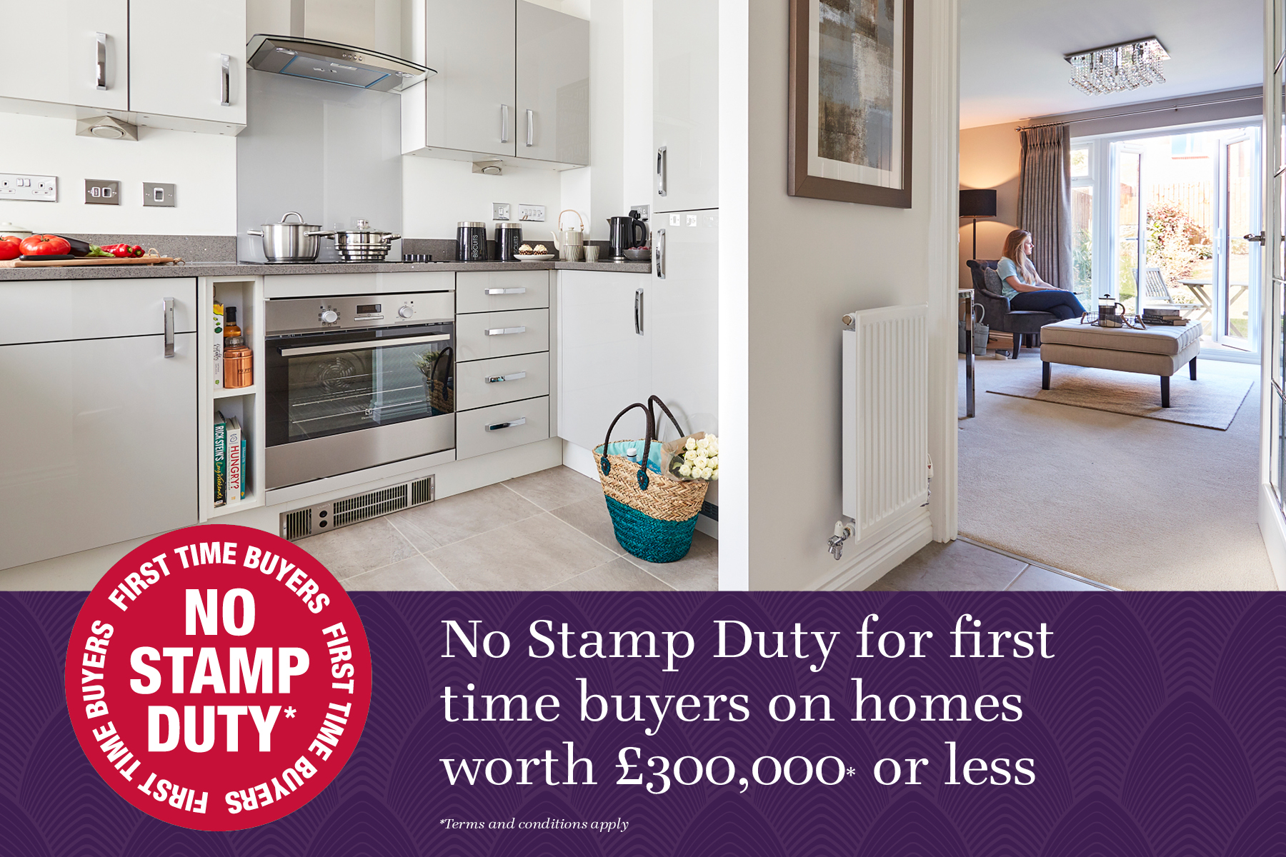 All Sites - Canford No Stamp Duty Graphic