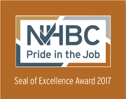 All Sites - NHBC Seal of Excellence 2017 Award Logo