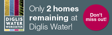 Diglis Water - 2 Plots Remaining Banner