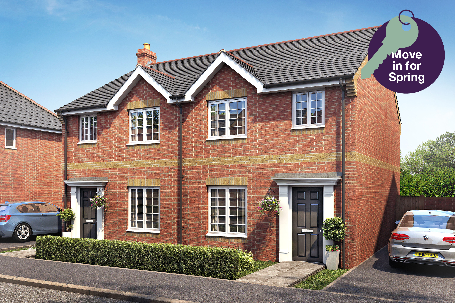 Midsummer Park - Plot 3 Flatford Move In for Spring Graphic