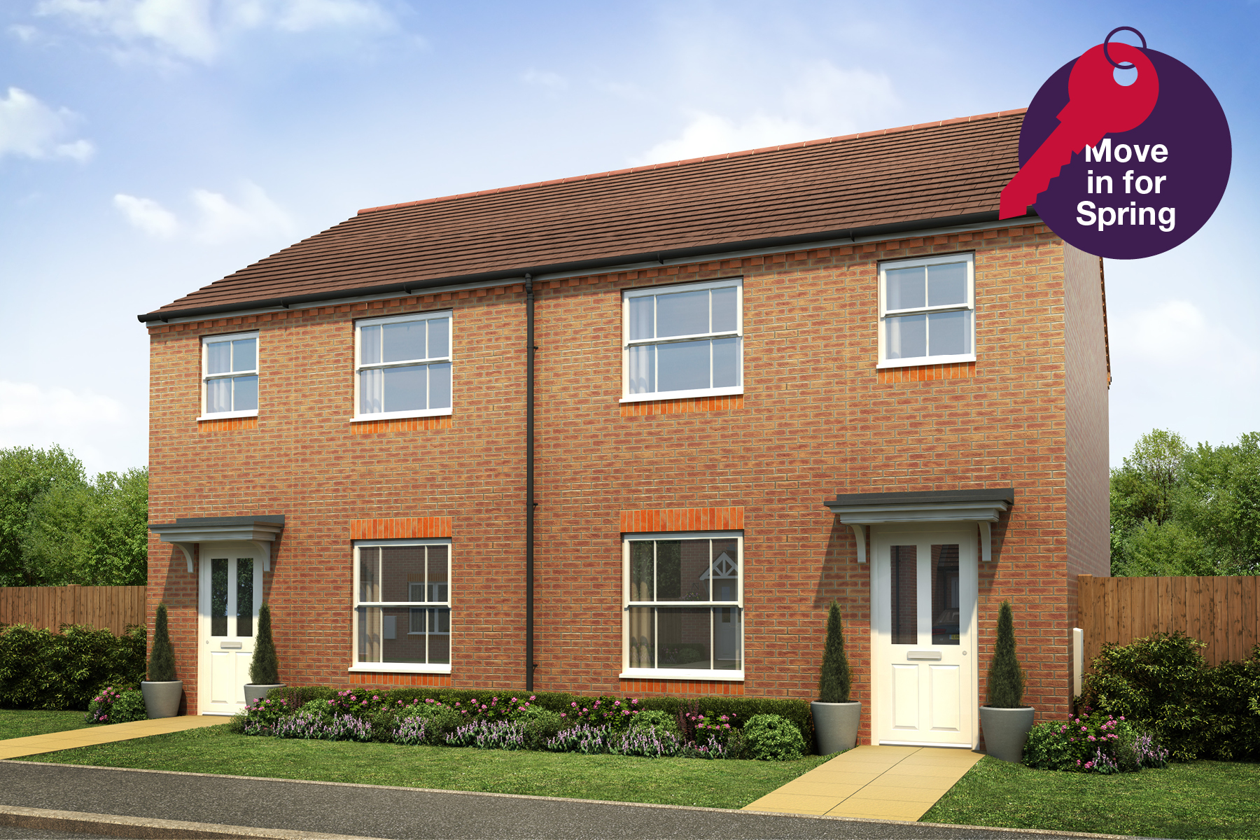 Willmott Fields - Plot 31 Flatford Move In for Spring Graphic
