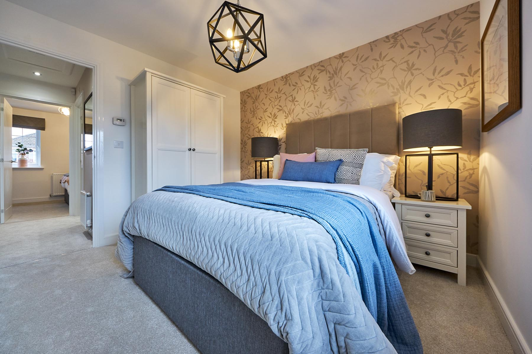 Woodland Edge - Canford - Master bedroom2