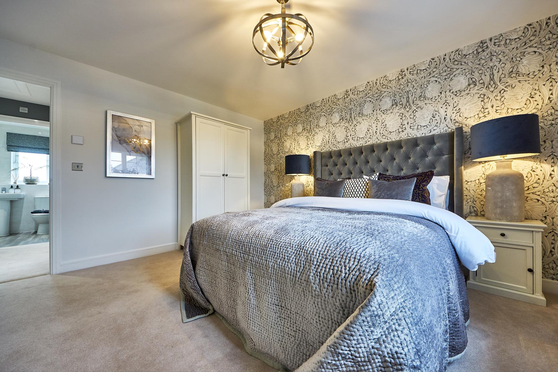 Woodland Edge - Shelford - Master bedroom