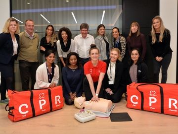 TW BHF Training News Story