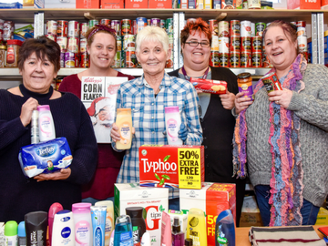 TWNE - Hebburn Helps donation