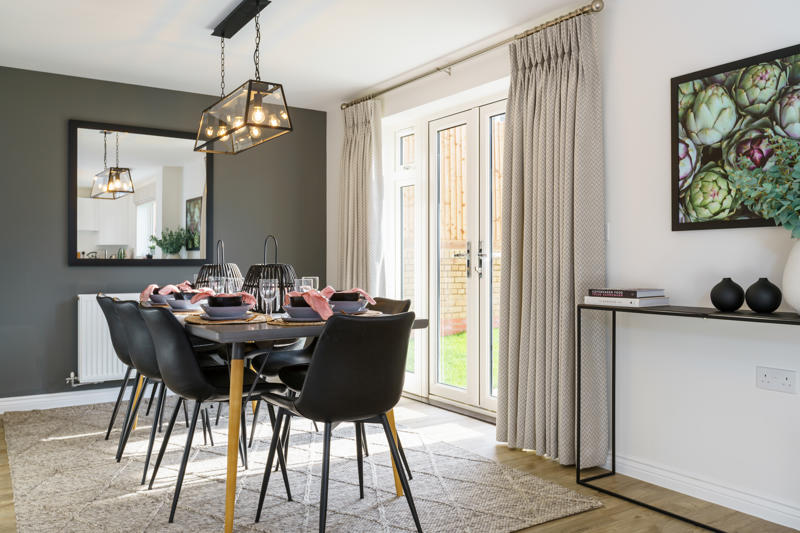 Wilton kitchen dining area - Vale View at Willow Lake Buckinghamshire