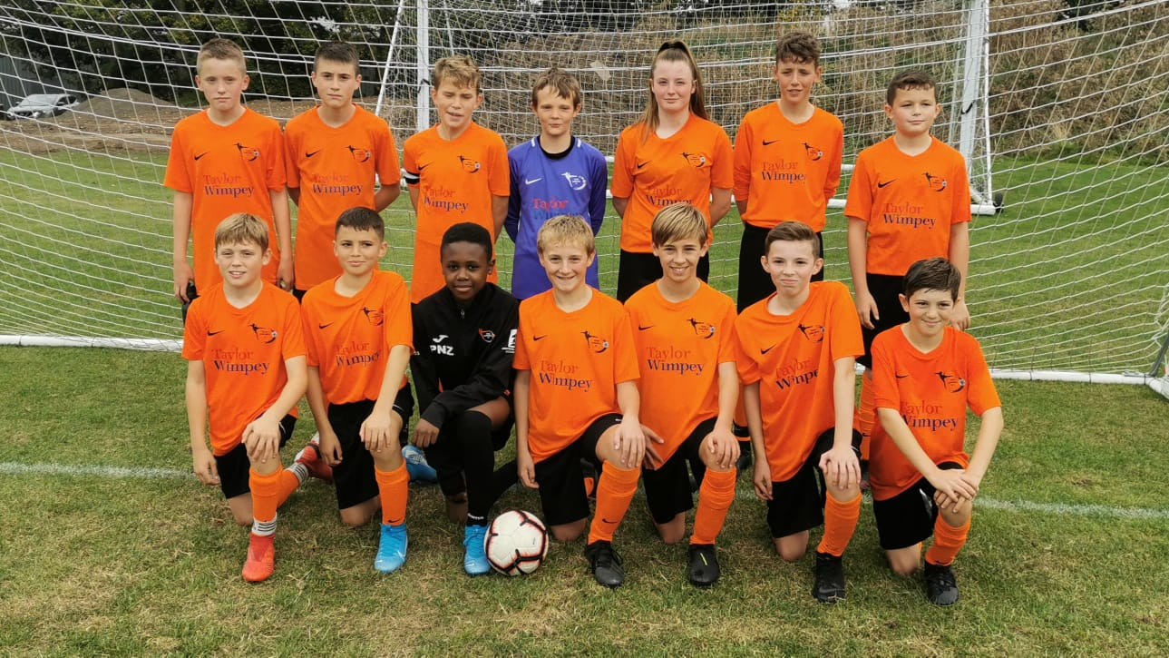 Team Gosforth Ajax U13 Team Photo 2