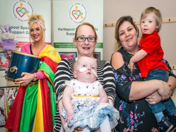 WEB  Hartlepool Special Needs Support Group is thrilled to have benefitted from a cash boost from le