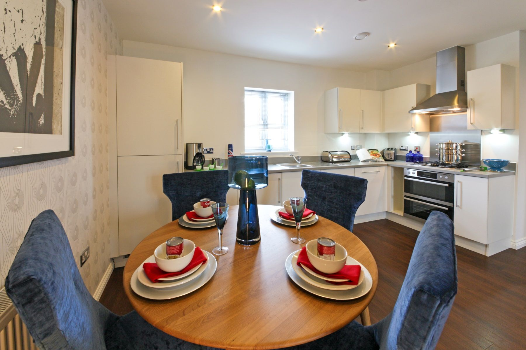 Rackenford Meadow Edale example dining area