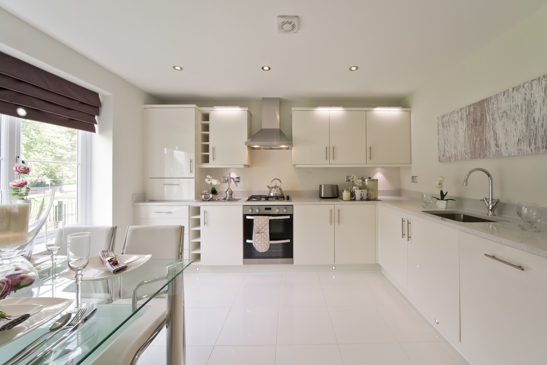 Hele Park Kempsford example kitchen
