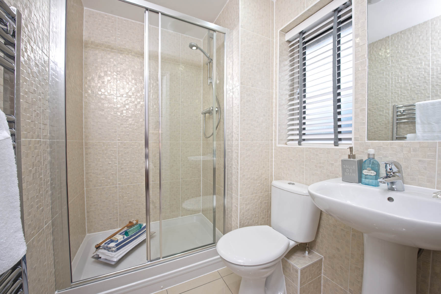 Eskdale en suite shower room