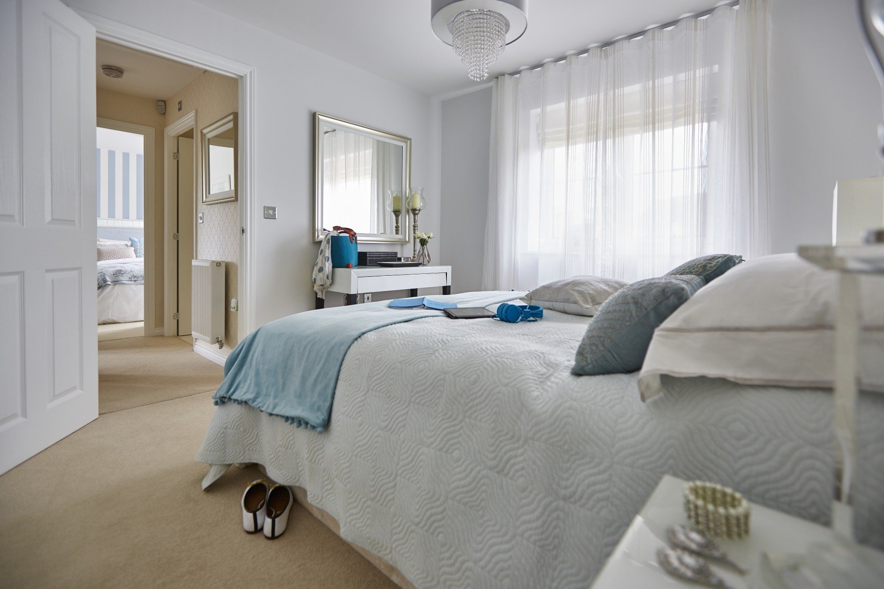 Taylor Wimpey Exeter - Cranbrook - Yewdale example bedroom