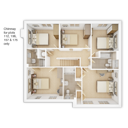3d-floorplan-FF-The-Lavenham-PD51-Sutton-Grange-Brochure
