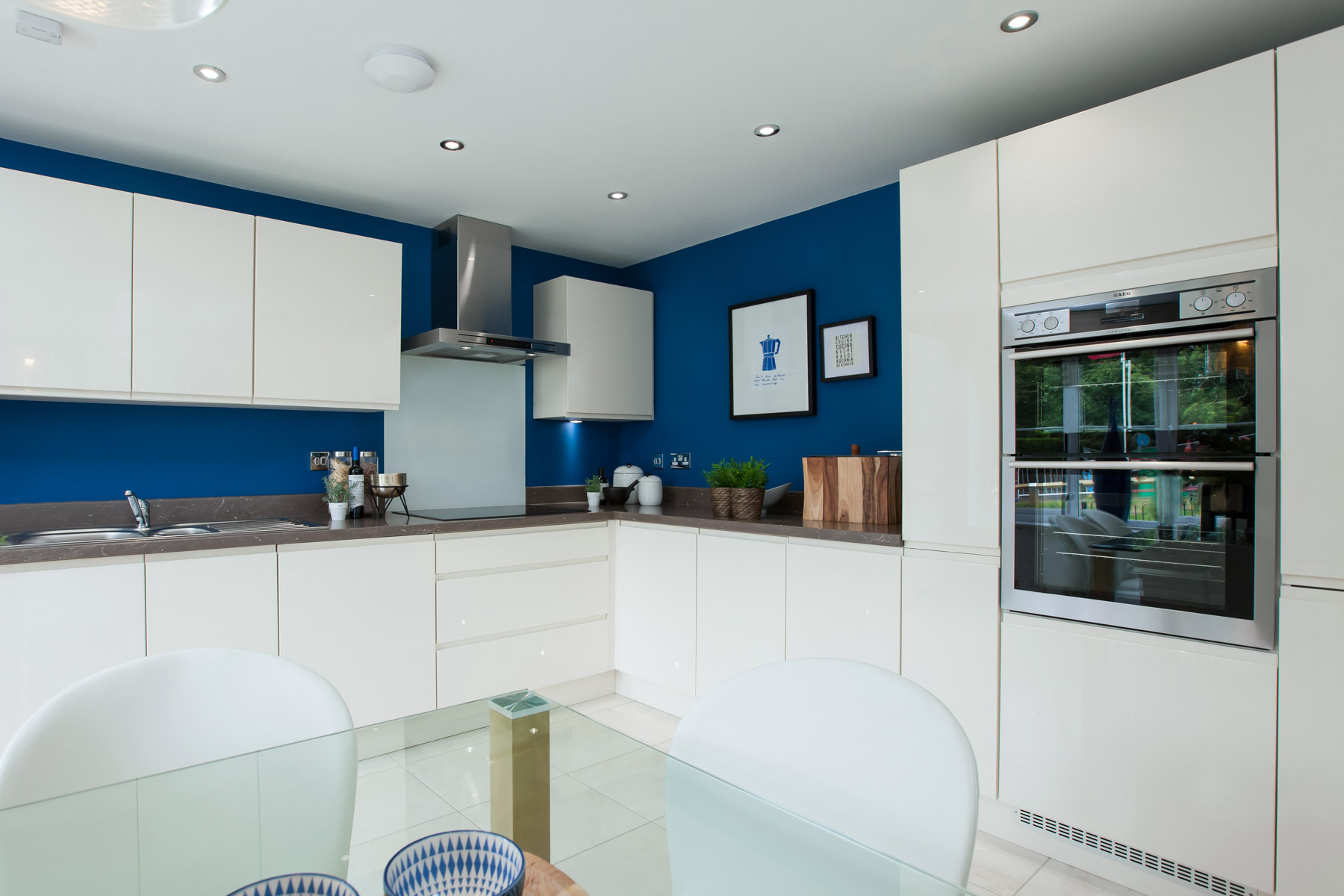 Monkford Show Home Kitchen