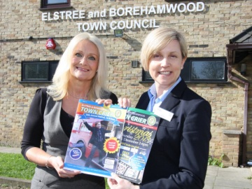 Borehamwood civic festival sponsorship web