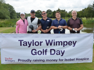 Our North Thames team raise money FORE local charity