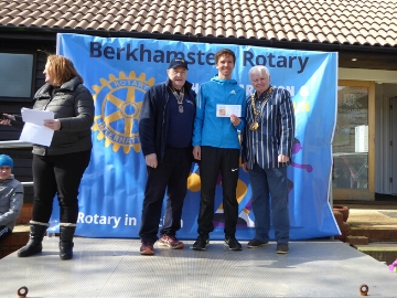 Taylor Wimpey North Thames - Berkhamsted Rotary Sponsorship