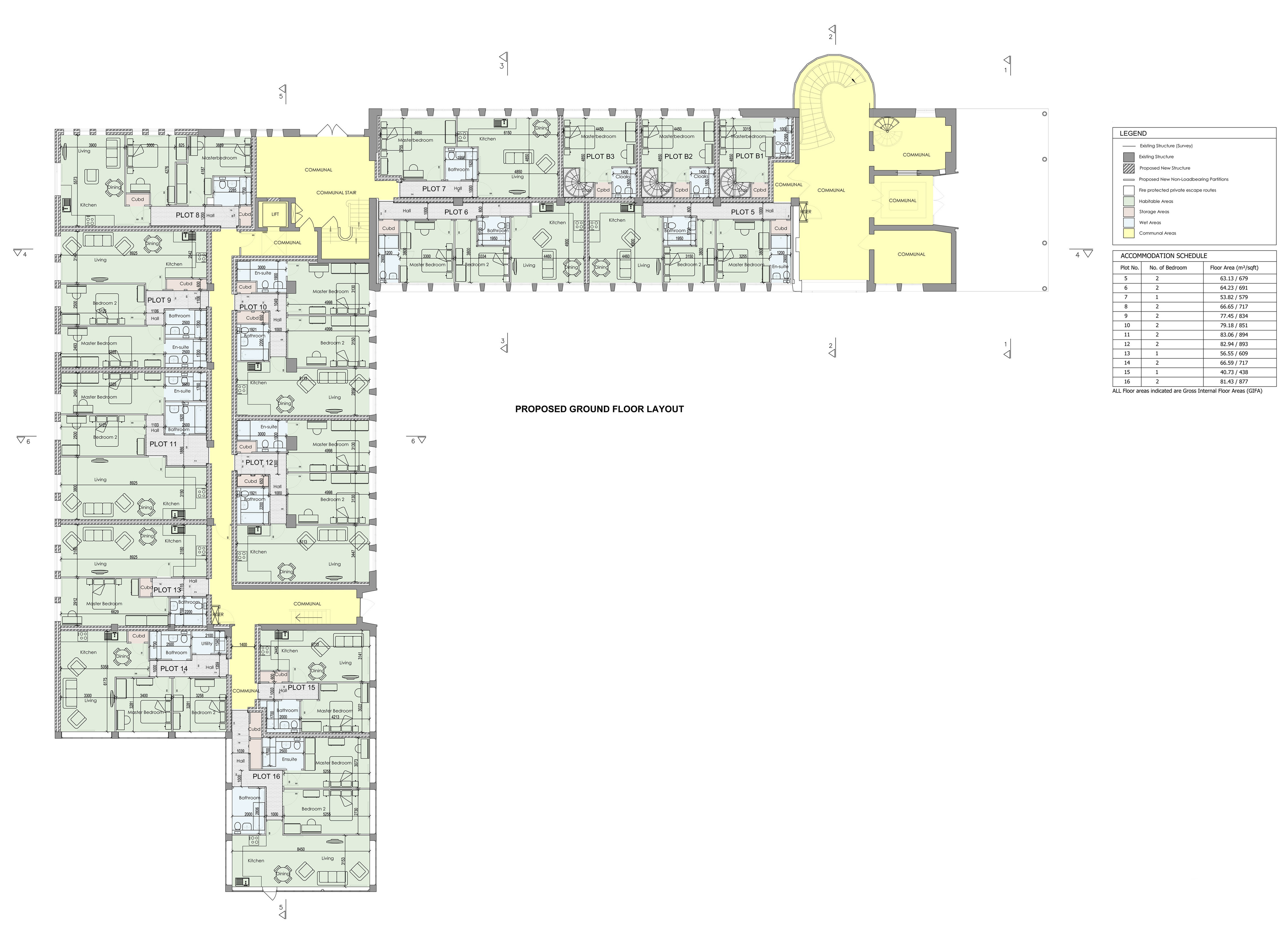 Proposed Ground Floor Layout 11