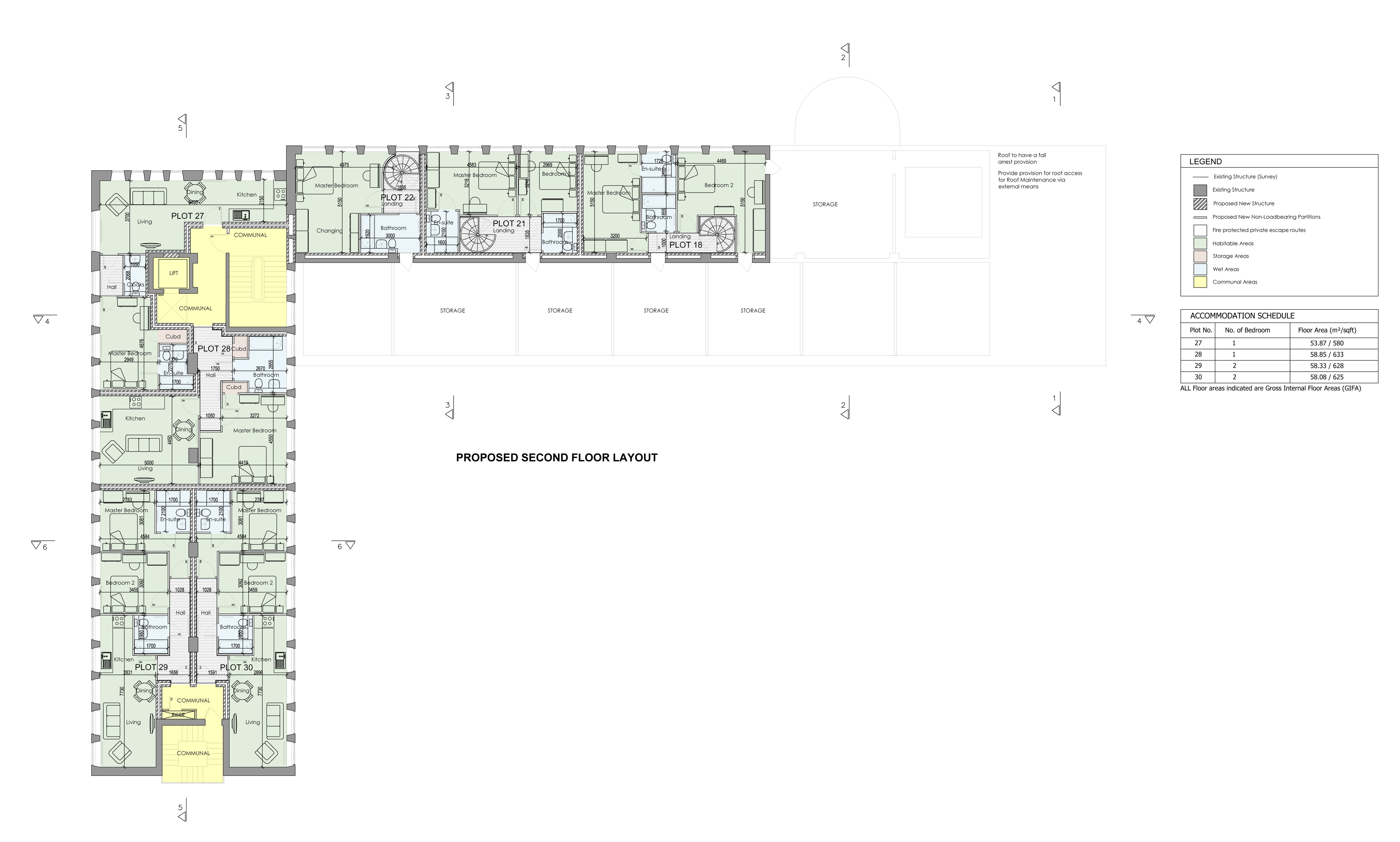 Proposed Second Floor Layout 11