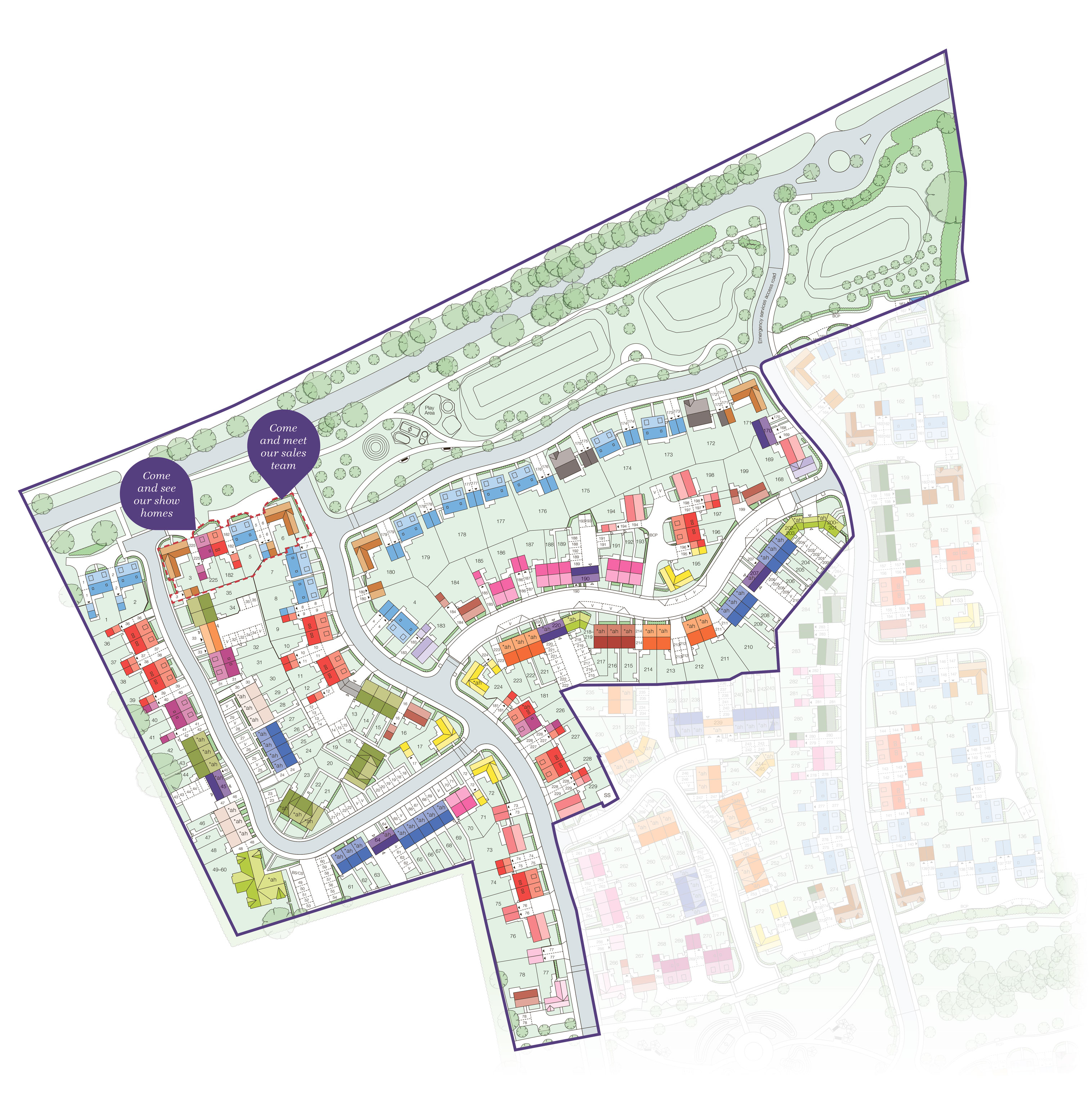 Oaklands Phase 1 Site Plan