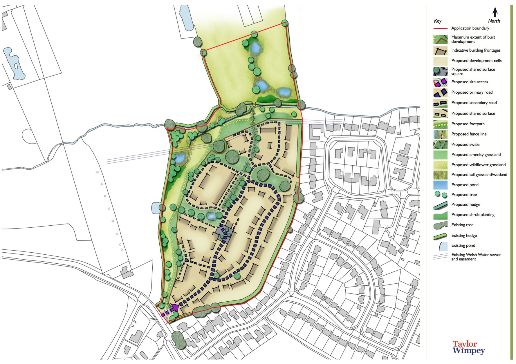 Tattenhall masterplan