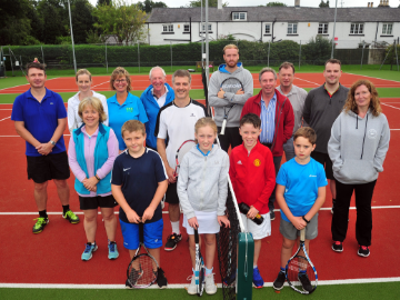 NEWS - TWNW - Tennis club donation