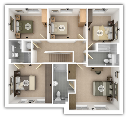 Lavenham First Floor Plan
