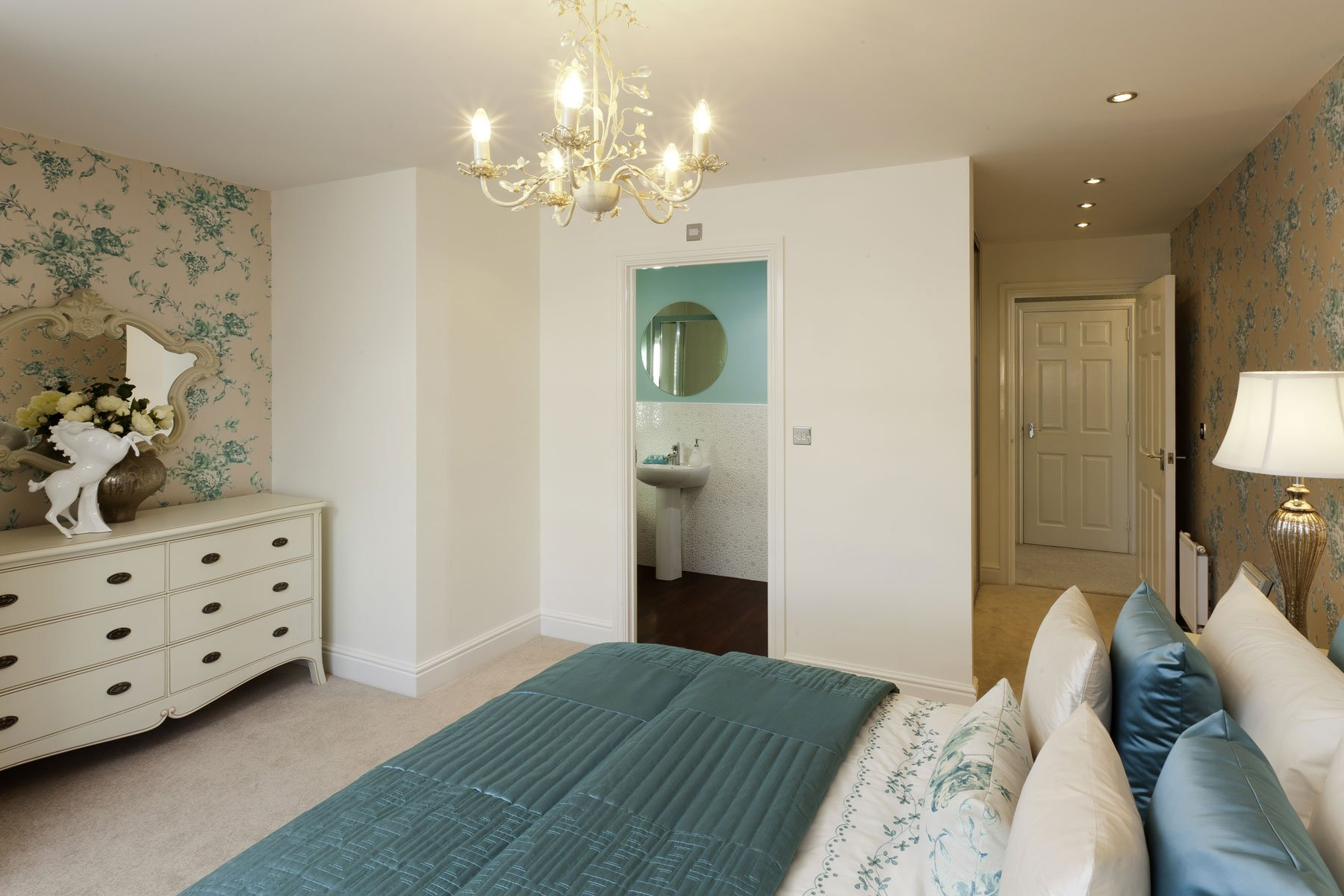 Double bedroom from the Ashton