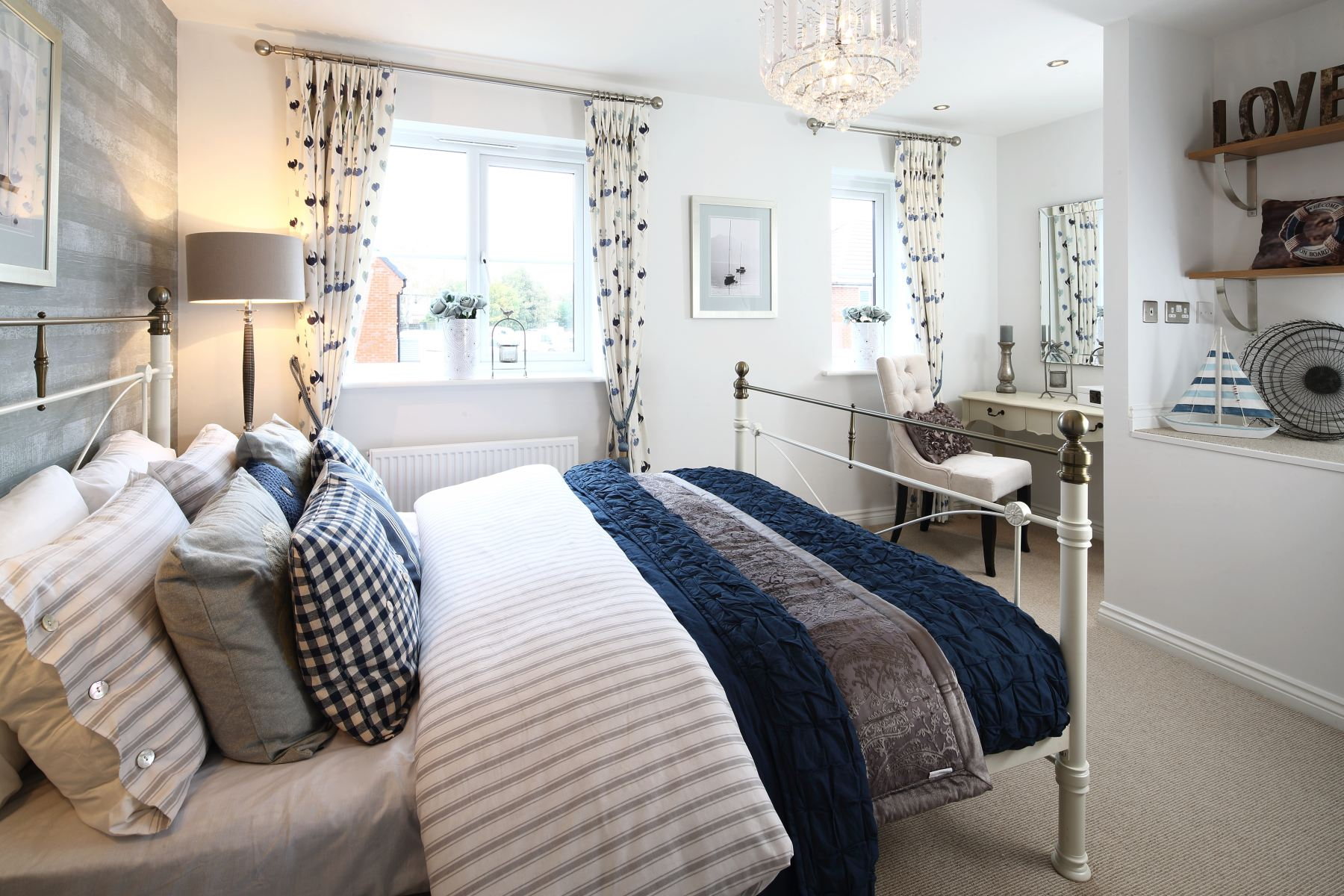 Bradenham master bedroom