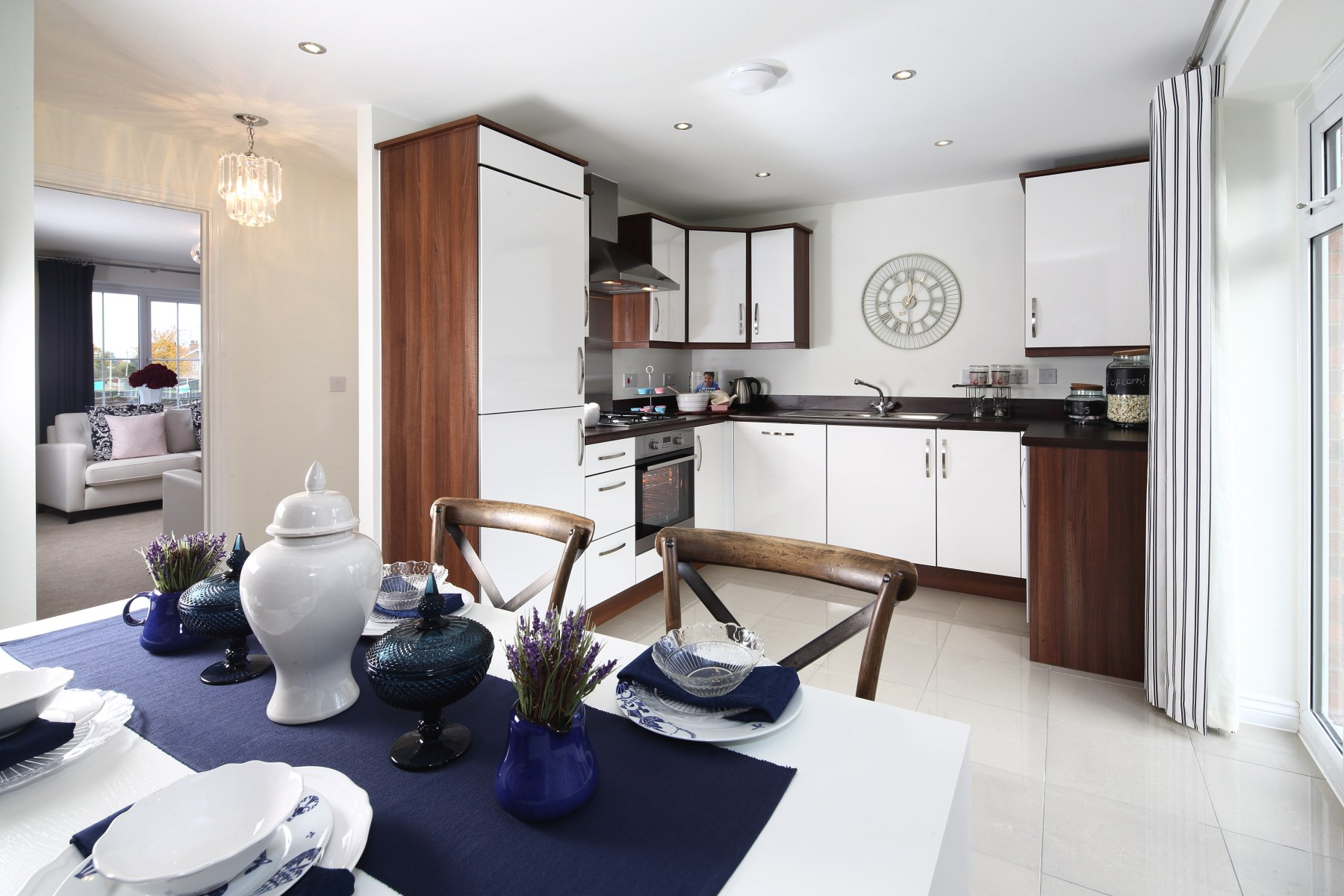 Gosford kitchen  dining area