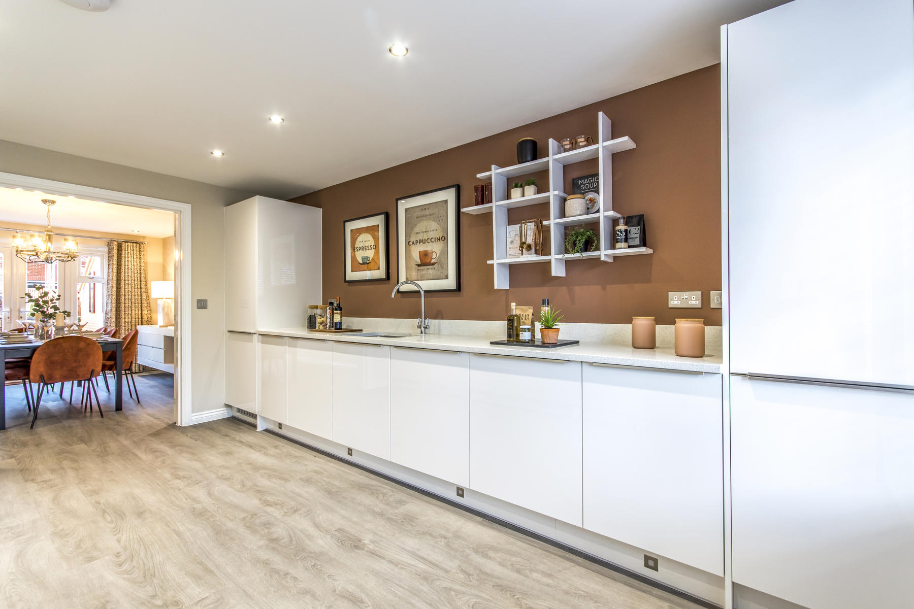 Thornford kitchen 1  - Edwalton Chase