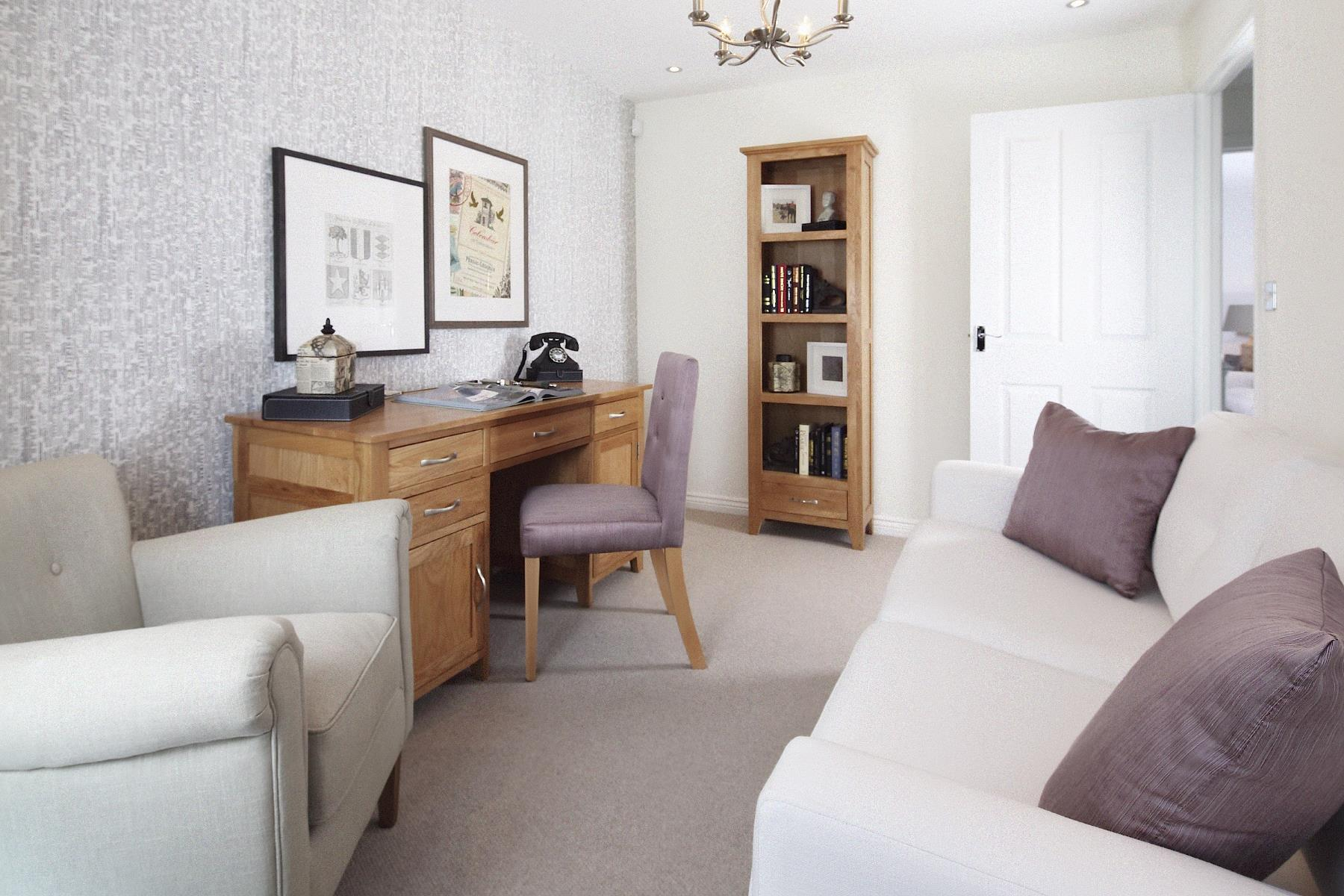 Thornford Study-Family room
