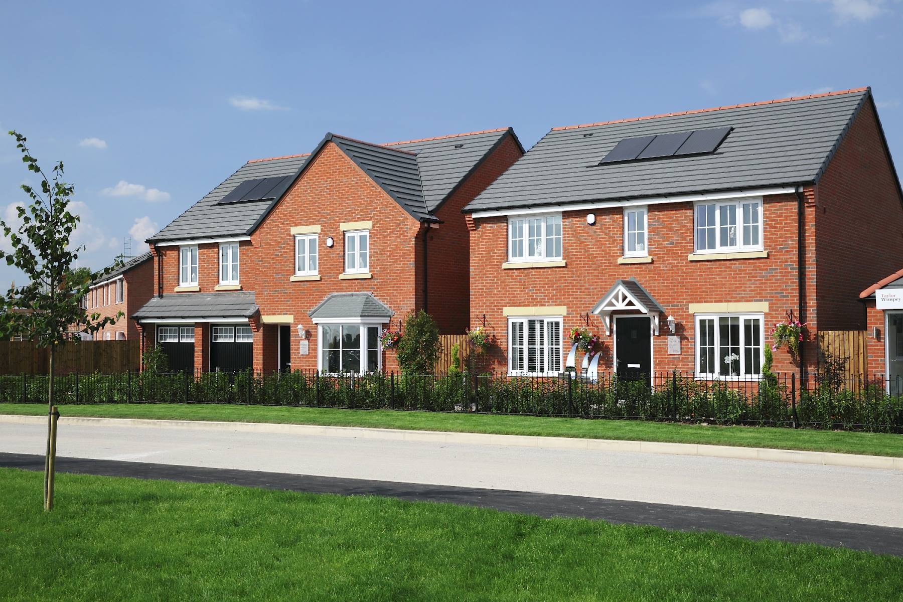 Rowan Manor show homes