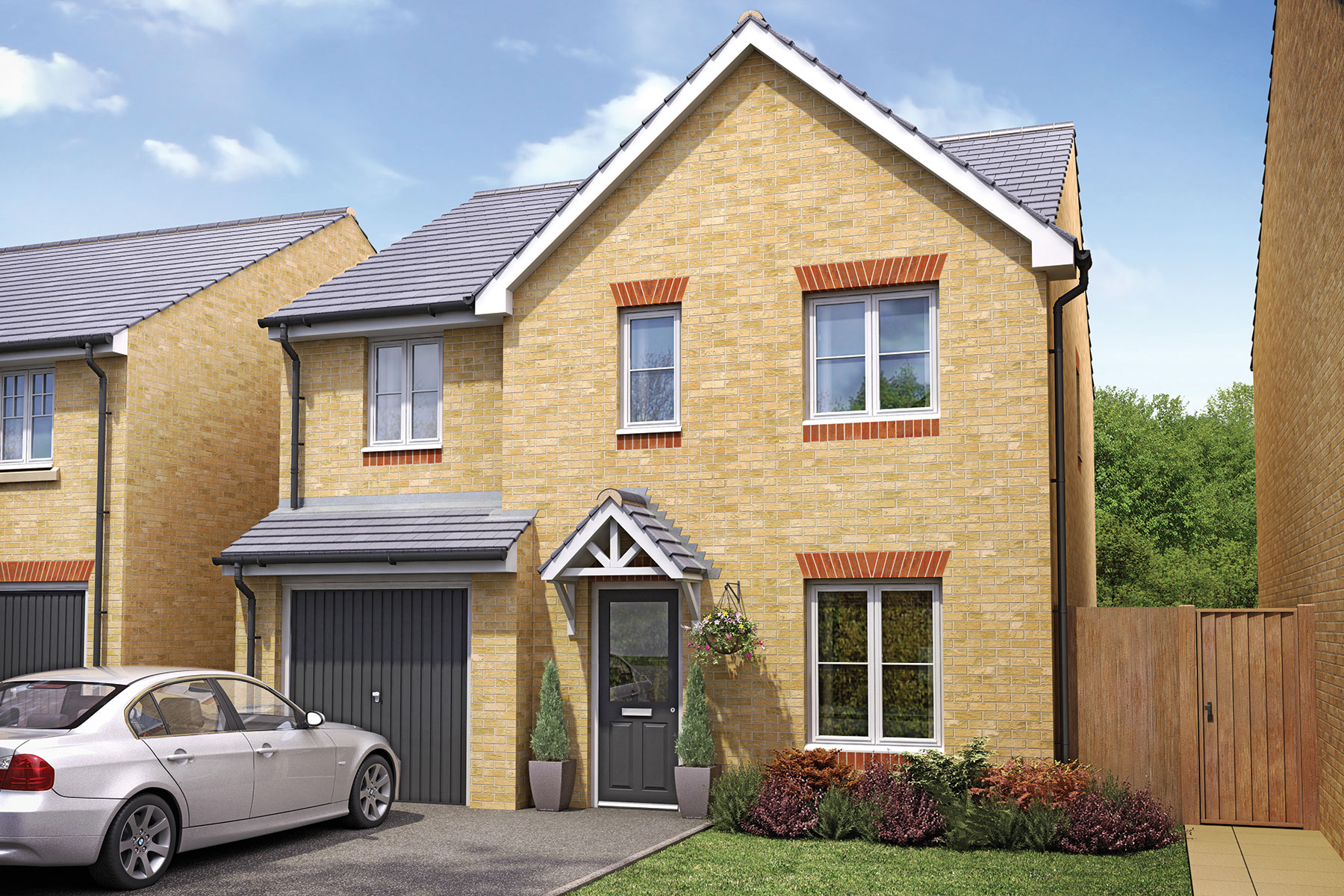 Taylor Wimpey - Exterior - The Bradenham - 4 bedroom new home