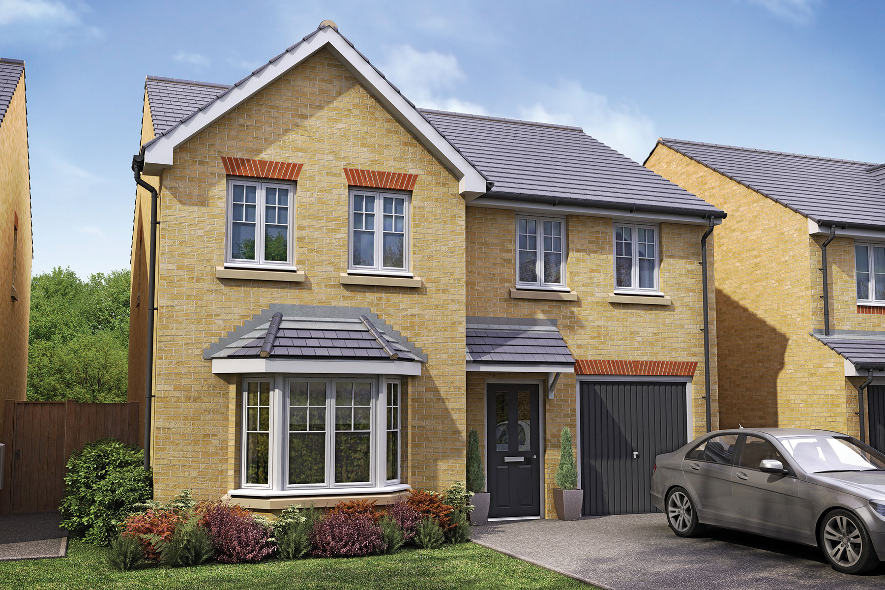 Taylor Wimpey - Exterior - The Haddenham - 4 bedroom new home