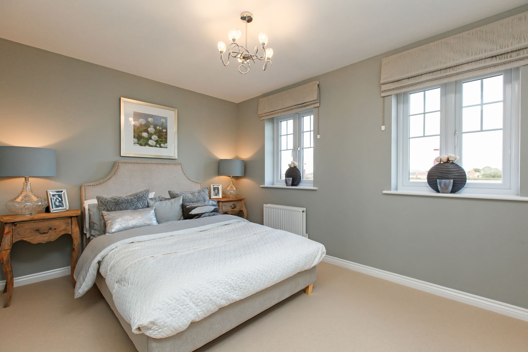 Double bedroom grey