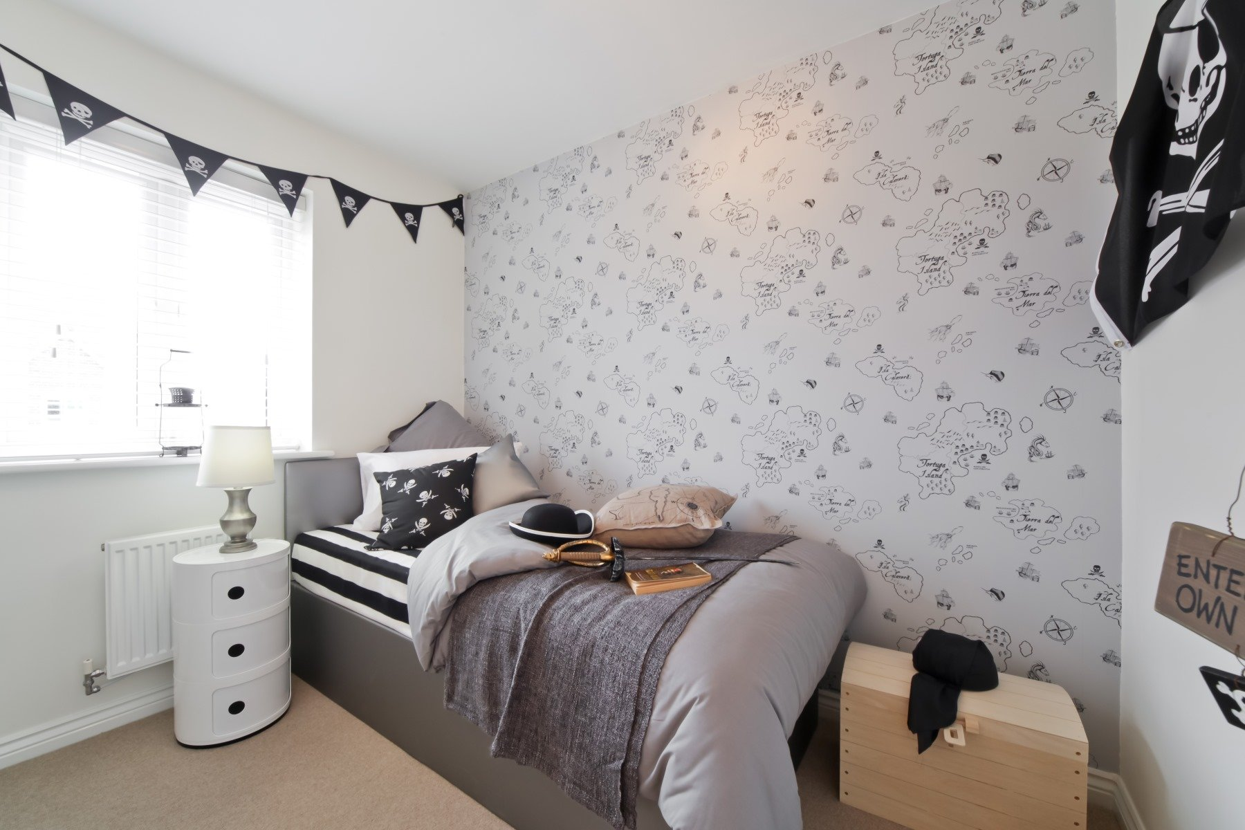 Chelford Showhome - Boys Bedroom 3
