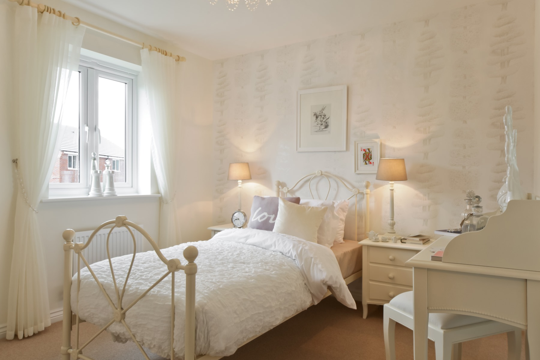 Chelford Showhome - Girls Bedroom 4