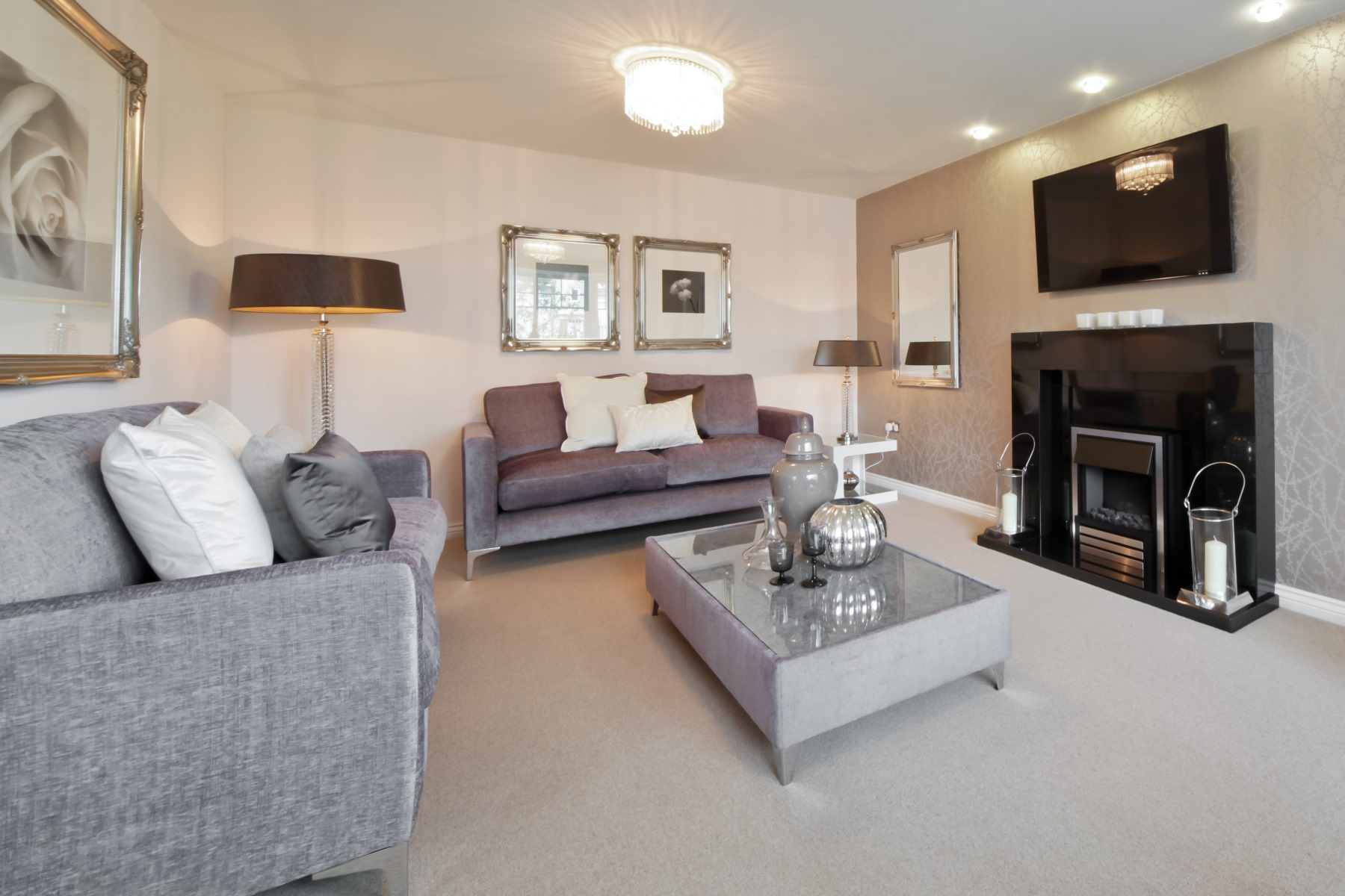 Chelford Showhome - Living Room