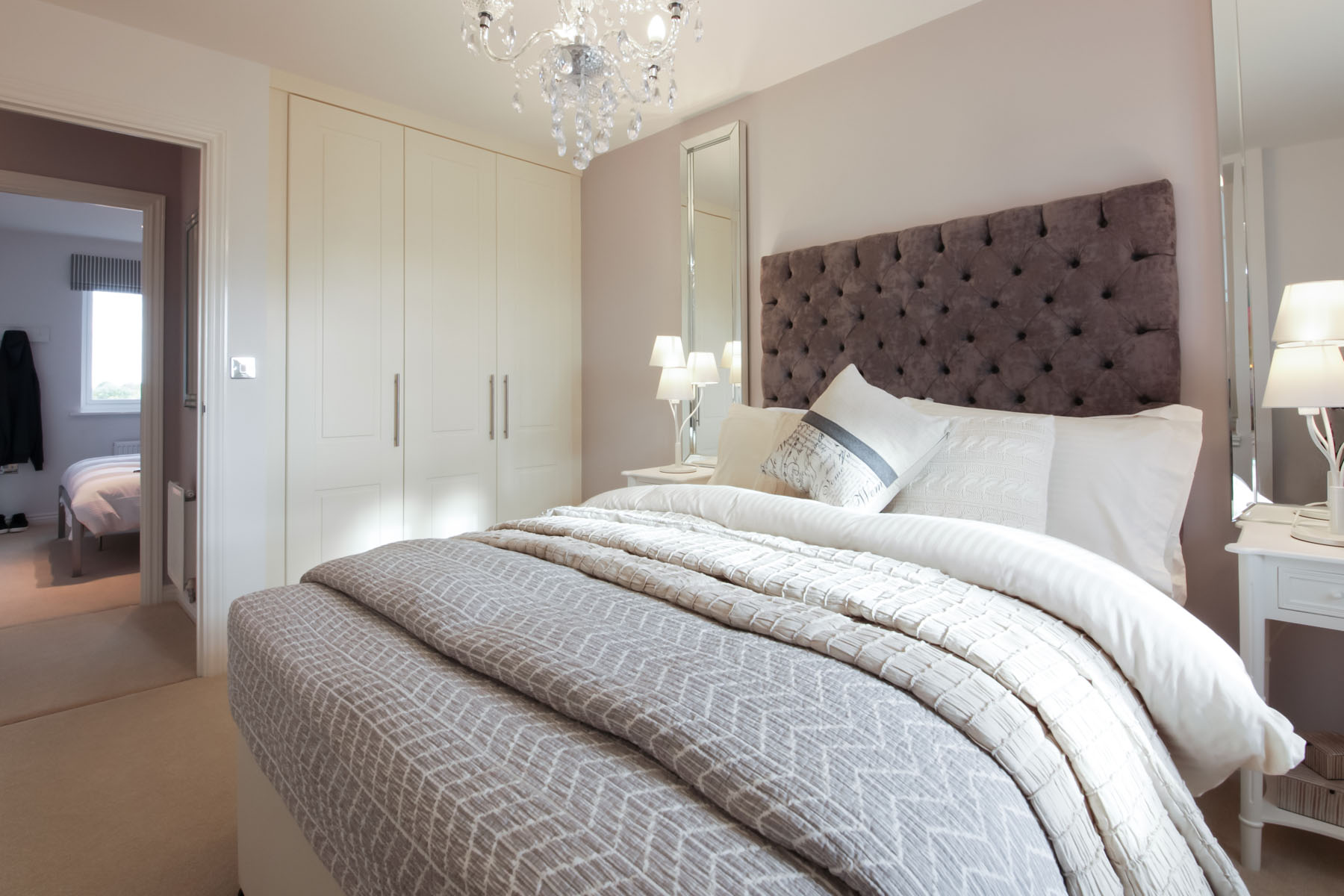 Bradenham bedroom with fitted wardrobes