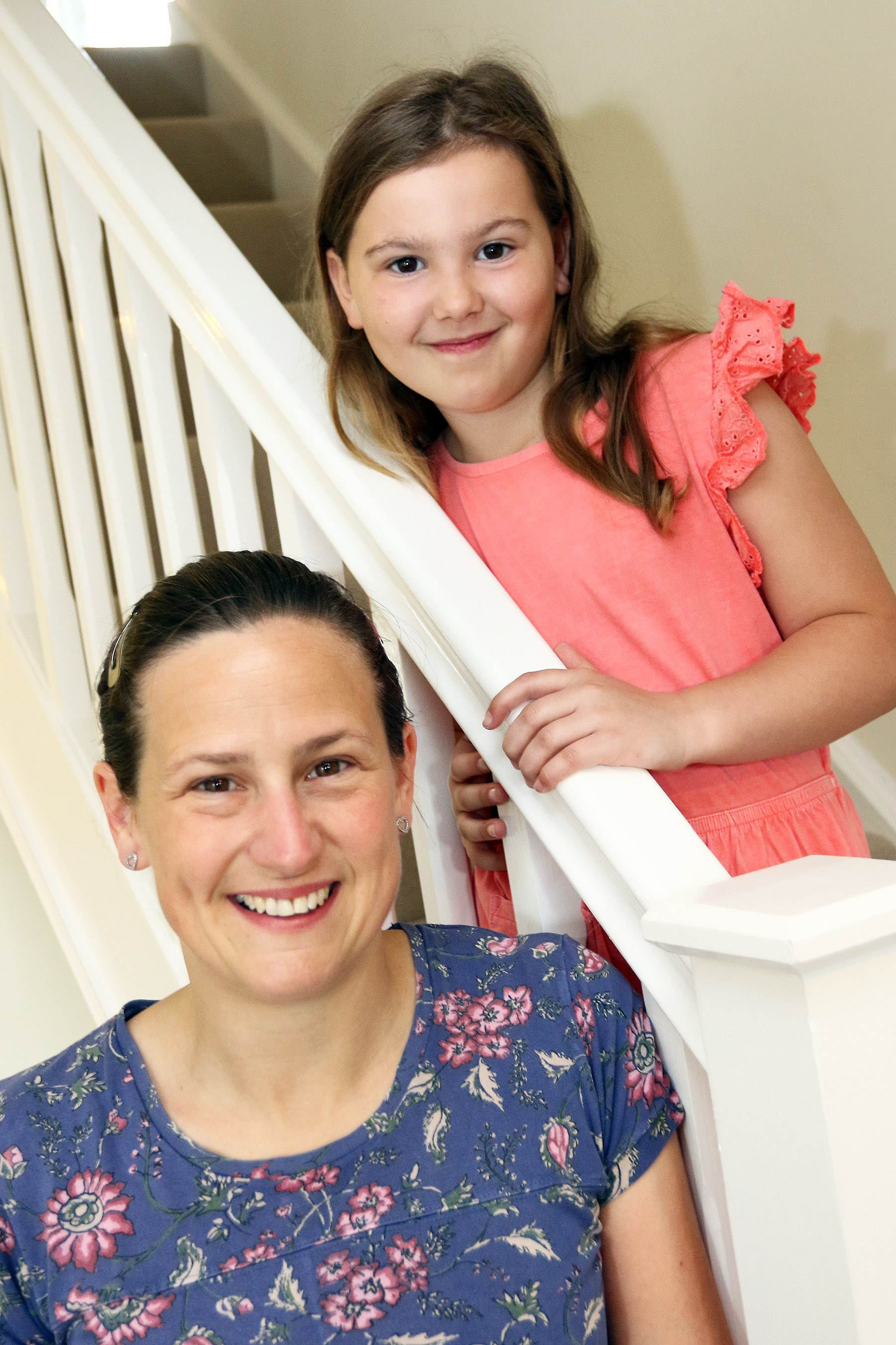 Kate Bye and her eight-year-old daughter Evelyn were looking for their new forever home