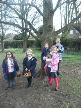 WEB Barley Hill Primary - Nest Boxes