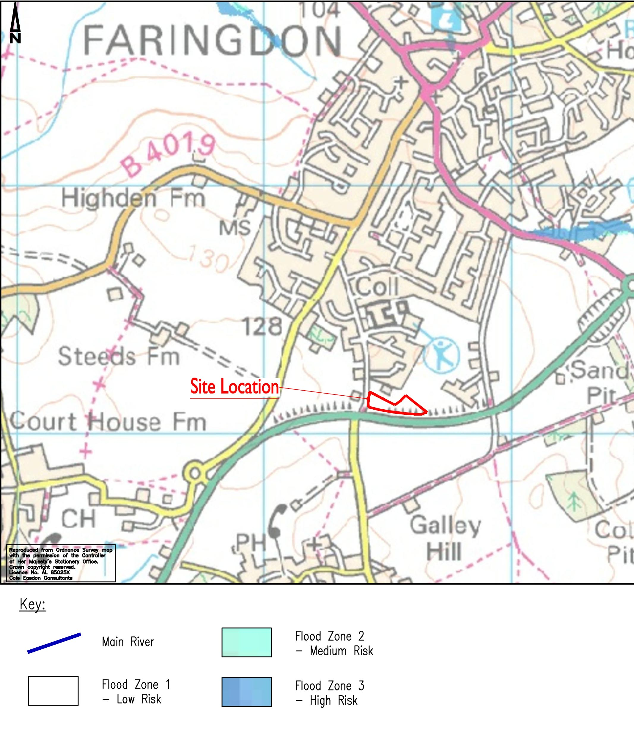 Faringdon Flood Map