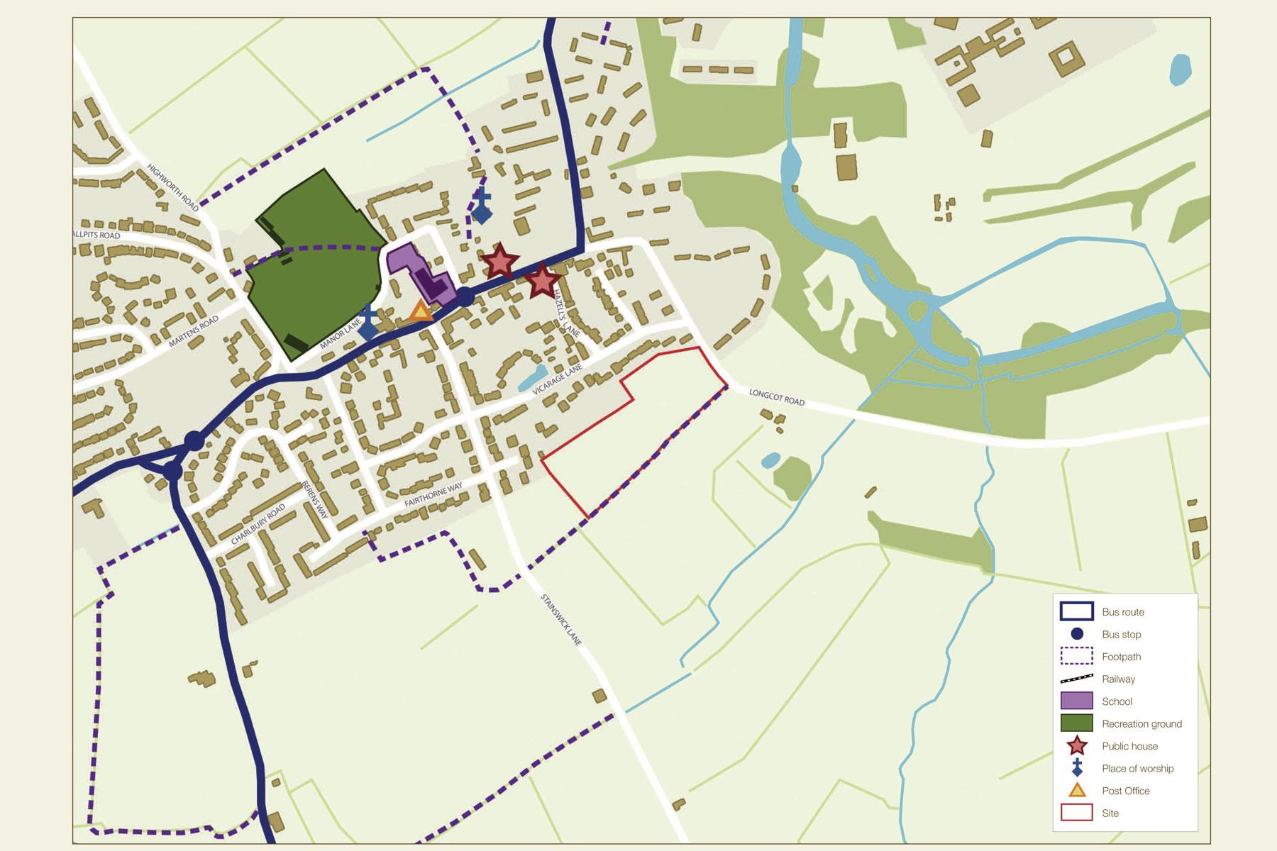 Shrivenham_Access_and_Movement_Local_Facilities