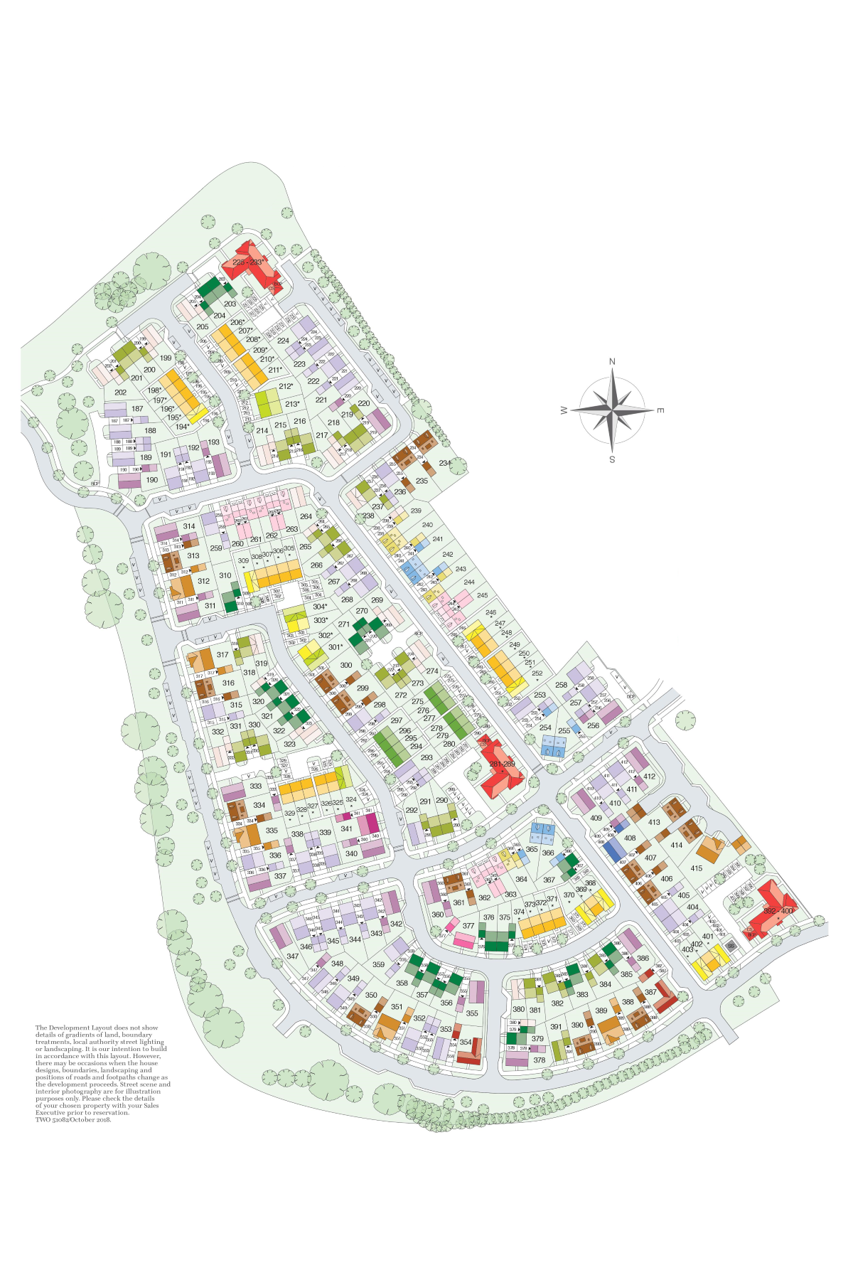 Brunel Rise Site Plan Full