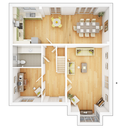 Amended 0 Taylor-Wimpey-Welford-4-bed-3D-GF-Floorplan
