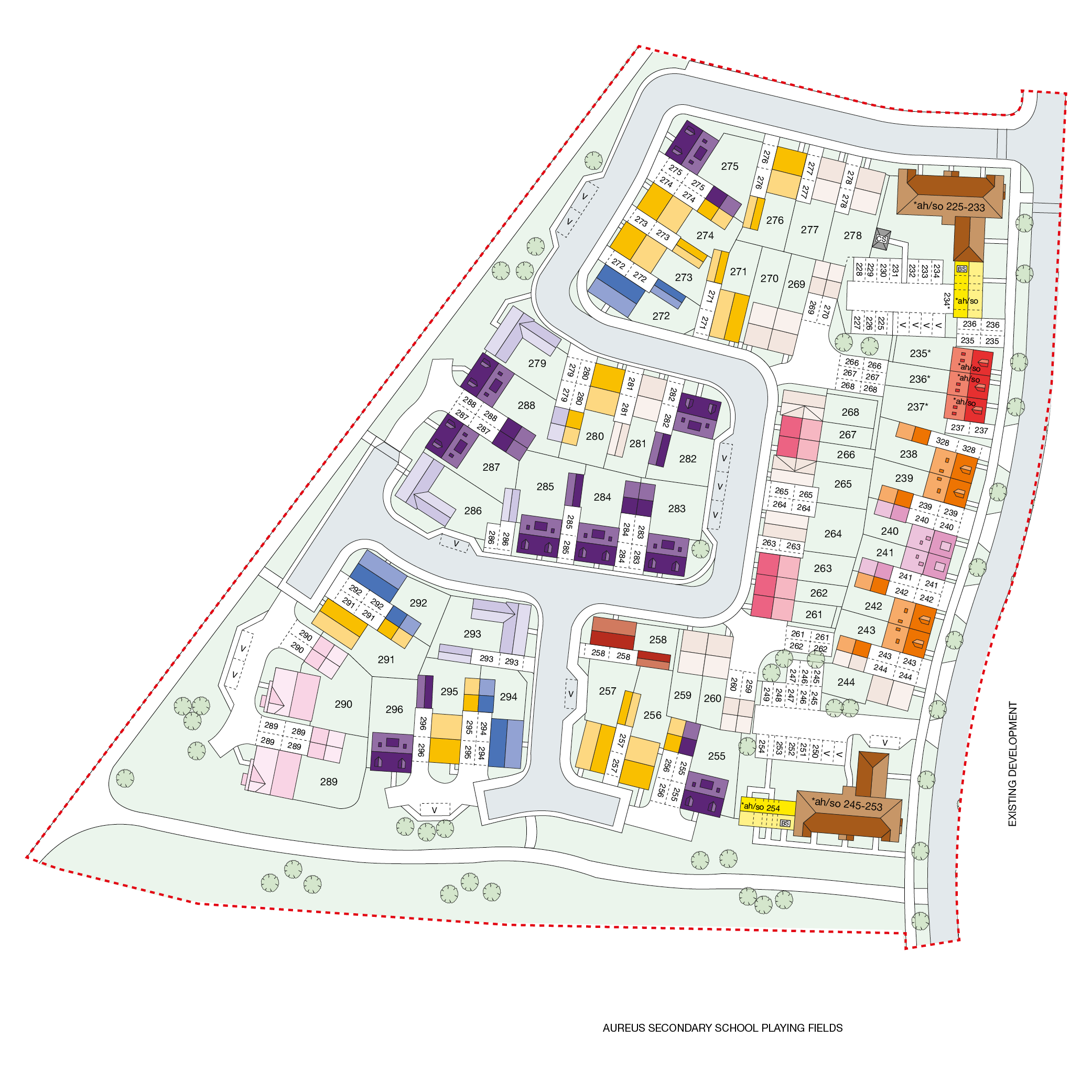 Emerald Quarter Site Plan
