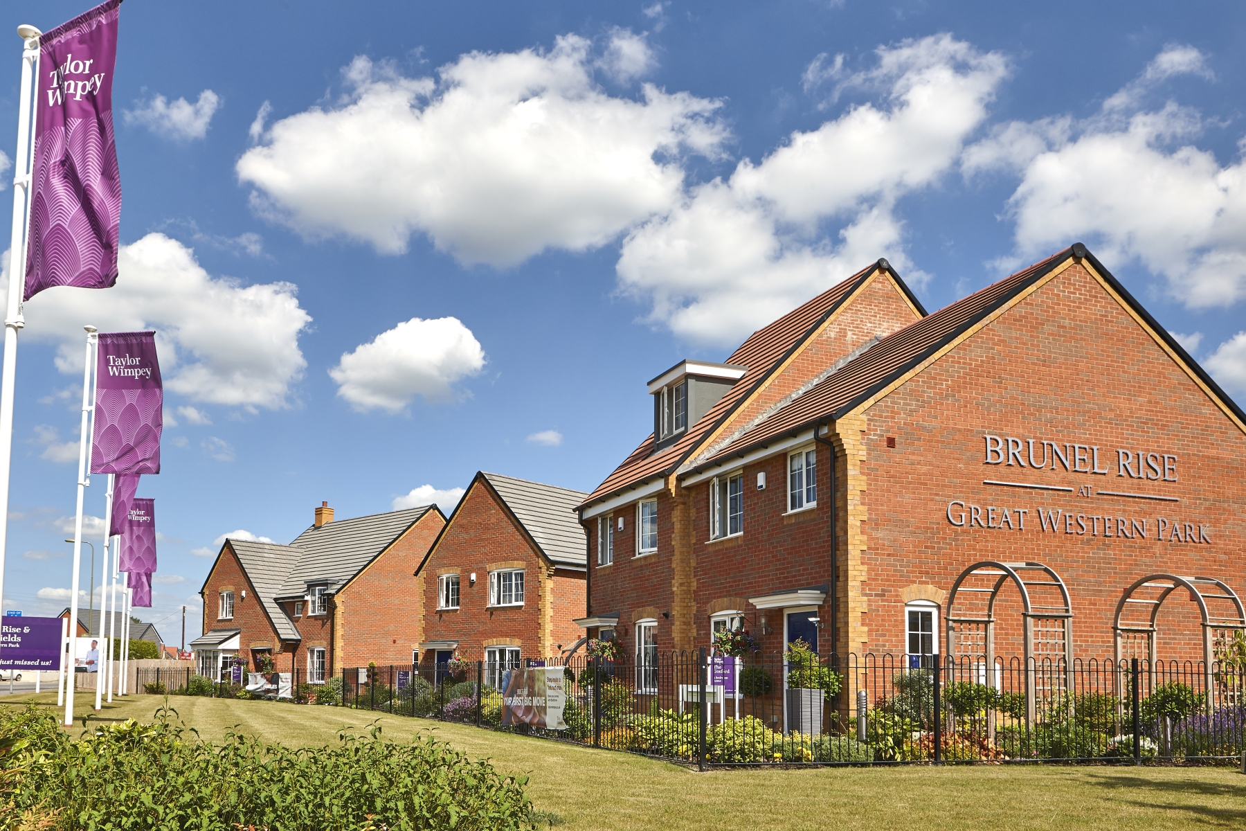 TW OX Brunel Rise Didcotshow homes3