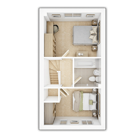 Taylor-Wimpey-Canford-2-bed-3D-FF-Floorplan