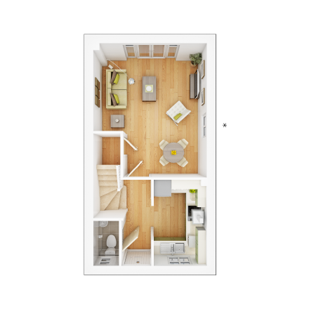 Taylor-Wimpey-Canford-2-bed-3D-GF-Floorplan
